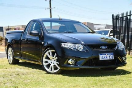 2009 Ford Falcon FG XR6 Ute Super Cab Turbo Black 6 Speed Sports Automatic Utility Wangara Wanneroo Area Preview