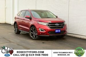 2015 Ford Edge Sport / REMOTE START / HEATED & COOLED SEATS / BA