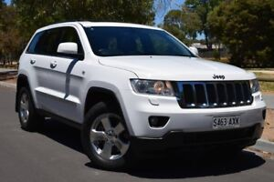 2013 Jeep Grand Cherokee WK MY2013 Laredo Bright White 5 Speed Sports Automatic Wagon St Marys Mitcham Area Preview