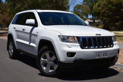 2013 Jeep Grand Cherokee WK MY2013 Laredo Bright White 5 Speed Sports Automatic Wagon