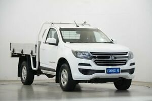 2017 Holden Colorado RG MY18 LS White 6 Speed Sports Automatic Cab Chassis