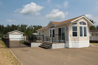 Raymond Shores Lake view lot and modular for sale