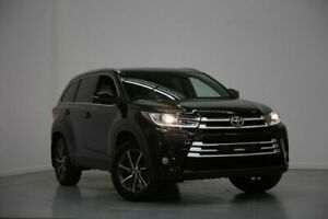 2017 Toyota Kluger GSU50R GXL 2WD Black 8 Speed Sports Automatic Wagon Altona North Hobsons Bay Area Preview