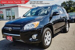 2012 Toyota RAV4 Limited - For those who love the extras in life