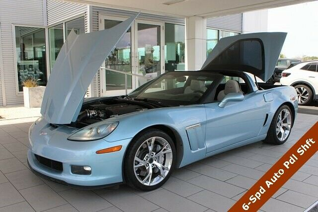 2012 Blue Chevrolet Corvette Grand Sport  | C6 Corvette Photo 4