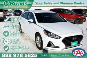 2018 Hyundai Sonata GL - Accident Free! w/Mfg Warranty