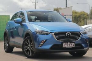 2015 Mazda CX-3 DK4WSA sTouring SKYACTIV-Drive i-ACTIV AWD Blue 6 Speed Sports Automatic Wagon Caloundra West Caloundra Area Preview