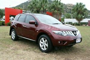 2010 Nissan Murano Z51 Series 2 MY10 TI Maroon 6 Speed Constant Variable Wagon Townsville Townsville City Preview