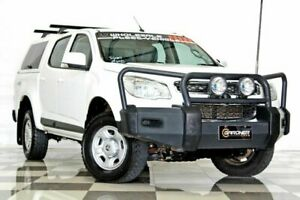 2016 Holden Colorado RG MY16 LS (4x4) White 6 Speed Automatic Crew Cab Pickup Burleigh Heads Gold Coast South Preview