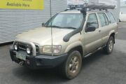 2000 Nissan Pathfinder WX II TI Gold 4 Speed Automatic Wagon Portsmith Cairns City Preview