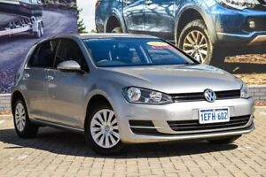 2013 Volkswagen Golf VII MY14 90TSI DSG Grey 7 Speed Sports Automatic Dual Clutch Hatchback