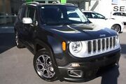 2016 Jeep Renegade BU MY16 Limited DDCT Black 6 Speed Sports Automatic Dual Clutch Hatchback Mount Gravatt Brisbane South East Preview