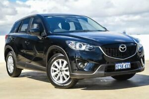 2014 Mazda CX-5 KE1071 MY14 Maxx SKYACTIV-Drive Sport Jet Black 6 Speed Sports Automatic Wagon Osborne Park Stirling Area Preview