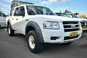2007 Ford Ranger PJ PJ XL Hi-Rider Utility Crew Cab 4dr Man 5sp, 4x2 1139kg 3.0D White 5 Speed Liverpool Liverpool Area Preview