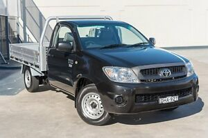 2011 Toyota Hilux TGN16R MY10 Workmate Ef10209/ 5 Speed Manual Cab Chassis Brookvale Manly Area Preview