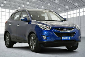 2014 Hyundai ix35 LM3 MY15 Elite Blue 6 Speed Sports Automatic Wagon Victoria Park Victoria Park Area Preview