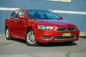 2013 Mitsubishi Lancer CJ MY13 LX Red 6 Speed Constant Variable Sedan Tweed Heads Tweed Heads Area Preview