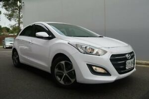 2015 Hyundai i30 GD3 Series II MY16 Active X DCT White 7 Speed Sports Automatic Dual Clutch Old Reynella Morphett Vale Area Preview