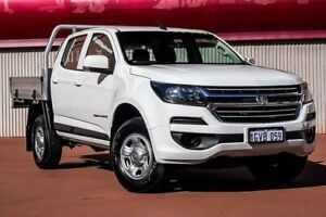 2019 Holden Colorado RG MY19 LS Crew Cab White 6 Speed Manual Cab Chassis Fremantle Fremantle Area Preview