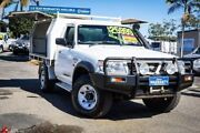 2002 Nissan Patrol GU ST Plus White 5 Speed Manual Cab Chassis Archerfield Brisbane South West Preview