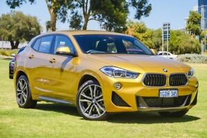 2018 BMW X2 F39 xDrive20d Coupe Steptronic AWD M Sport Gold 8 Speed Sports Automatic Wagon