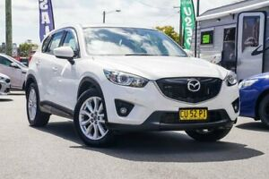 2012 Mazda CX-5 KE1021 Grand Touring SKYACTIV-Drive AWD White 6 Speed Sports Automatic Wagon Tweed Heads Tweed Heads Area Preview