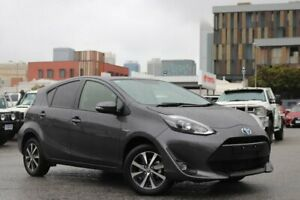 2018 Toyota Prius c NHP10R MY17 I-Tech Hybrid Graphite Continuous Variable Hatchback