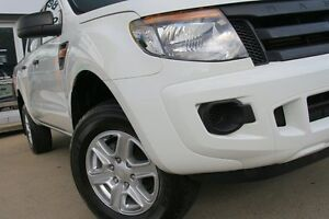 2013 Ford Ranger PX XL 2.2 HI-Rider (4x2) White 6 Speed Manual Crewcab Dee Why Manly Area Preview