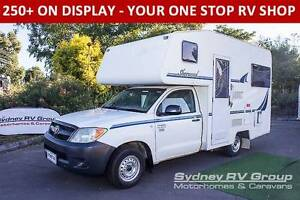 U3193 Suncamper Sherwood, Toyota Hilux, Shower & Toilet Penrith Penrith Area Preview