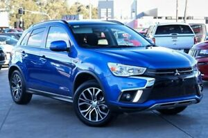 2018 Mitsubishi ASX XC MY18 LS 2WD Blue 6 Speed Constant Variable Wagon Liverpool Liverpool Area Preview