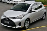 2016 Toyota Yaris NCP130R Ascent Silver 4 Speed Automatic Hatchback Narre Warren Casey Area Preview