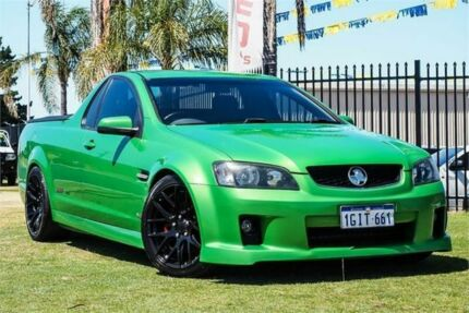 2008 Holden Ute VE SS Green 6 Speed Manual Utility Wangara Wanneroo Area Preview