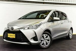2017 Toyota Yaris NCP130R Ascent Silver 4 Speed Automatic Hatchback Canning Vale Canning Area Preview