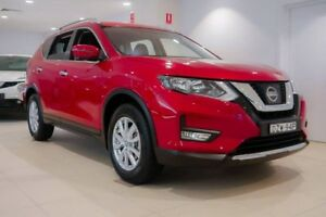 2018 Nissan X-Trail T32 Series II ST-L X-tronic 2WD Red 7 Speed Constant Variable Wagon Chatswood Willoughby Area Preview