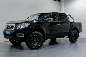 2015 Nissan Navara NP300 D23 ST (4x4) Black 6 Speed Manual Dual Cab Utility