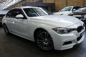 2016 BMW 320i F30 LCI M Sport White 8 Speed Sports Automatic Sedan Port Melbourne Port Phillip Preview