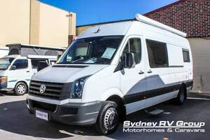 U3408 Volkswagen Crafter Campervan Brand New Fit-out Penrith Penrith Area Preview