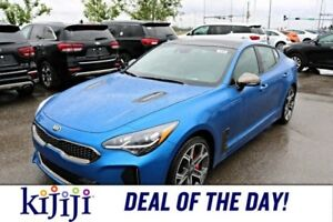 2018 Kia Stinger GT LIMITED NAPPA LEATHER , 360 CAMERA, HEATED/C