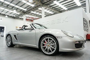 2009 Porsche Boxster 987 MY09 S Arctic Silver 6 Speed Manual Roadster Port Melbourne Port Phillip Preview