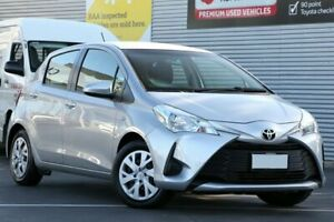 2017 Toyota Yaris NCP130R Ascent Silver Pearl 4 Speed Automatic Hatchback Cheltenham Charles Sturt Area Preview