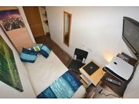 Nice Single Room with TV & LCD on Central Line Inc Bills within a House with a Large Garden