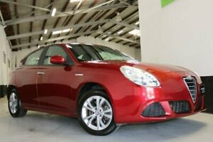 2014 Alfa Romeo Giulietta Series 0 MY13 Progression TCT Red 6 Speed Sports Automatic Dual Clutch West Melbourne Melbourne City Preview