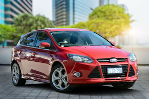 2014 Ford Focus LW MkII Sport PwrShift Red 6 Speed Sports Automatic Dual Clutch Hatchback Bayswater Bayswater Area Preview