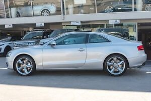 2011 Audi A5 8T MY12 Multitronic Silver 8 Speed Constant Variable Coupe Brookvale Manly Area Preview