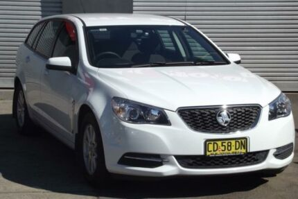 2015 Holden Commodore VF MY15 Evoke (LPG) White 6 Speed Automatic Sportswagon Riverstone Blacktown Area Preview