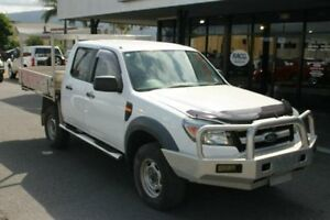 2009 Ford Ranger PK XL Crew Cab White 5 Speed Automatic Cab Chassis Bungalow Cairns City Preview