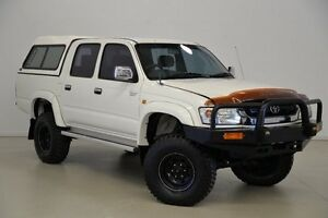 2001 Toyota Hilux LN167R MY02 SR5 White 5 Speed Manual Utility Mansfield Brisbane South East Preview