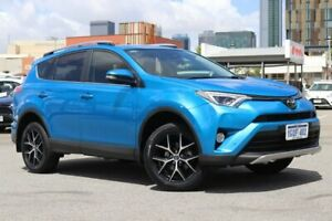 2018 Toyota RAV4 ZSA42R GXL 2WD Blue Gem 7 Speed Constant Variable Wagon Northbridge Perth City Area Preview