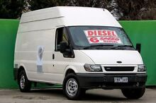 2005 Ford Transit VJ High Roof White 6 Speed Manual Van Ringwood East Maroondah Area Preview