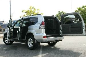 2007 Toyota Landcruiser Prado GRJ120R GXL Silver 5 Speed Automatic Wagon Bungalow Cairns City Preview